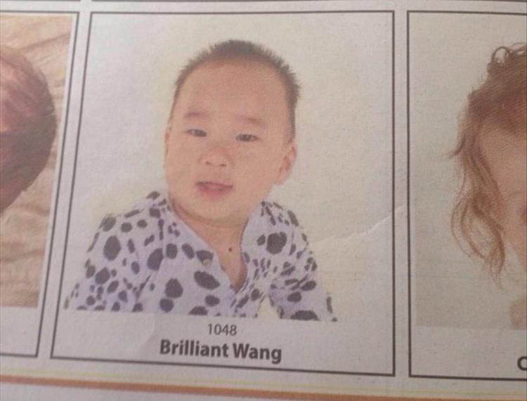 funny baby names