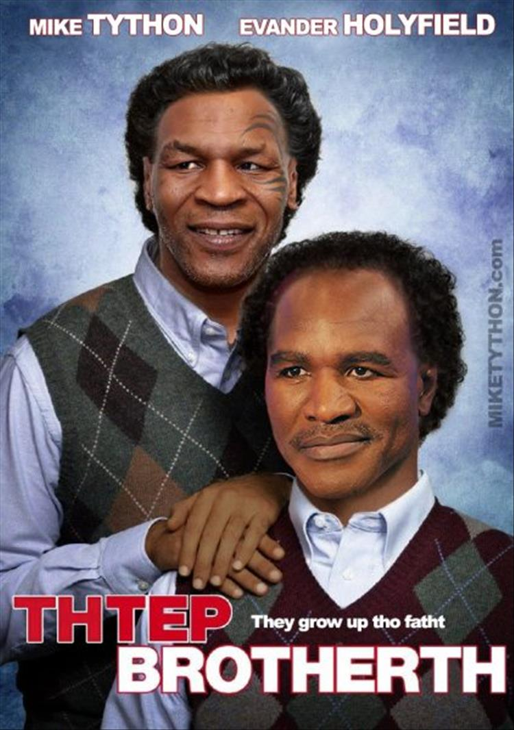funny mike tyson 4 if mike tyson starred in movies 20 pics
