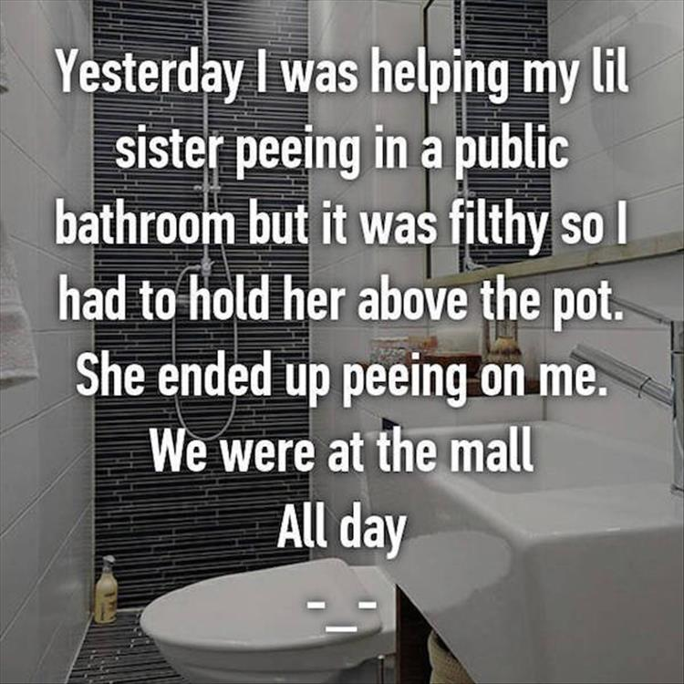 Potty Training Stories Are Funnier When It's Not Your Kid