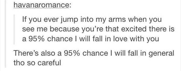 jump into my arms