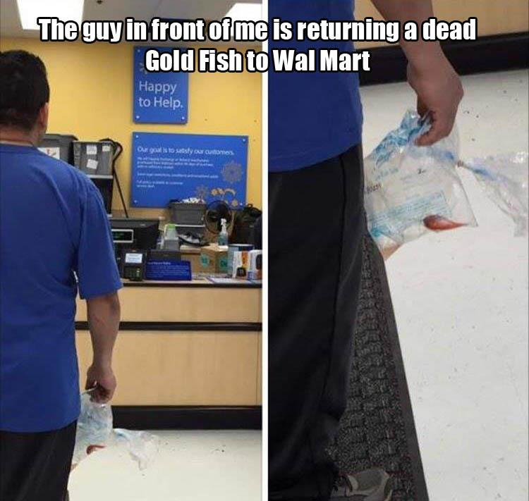 returns at wal mart