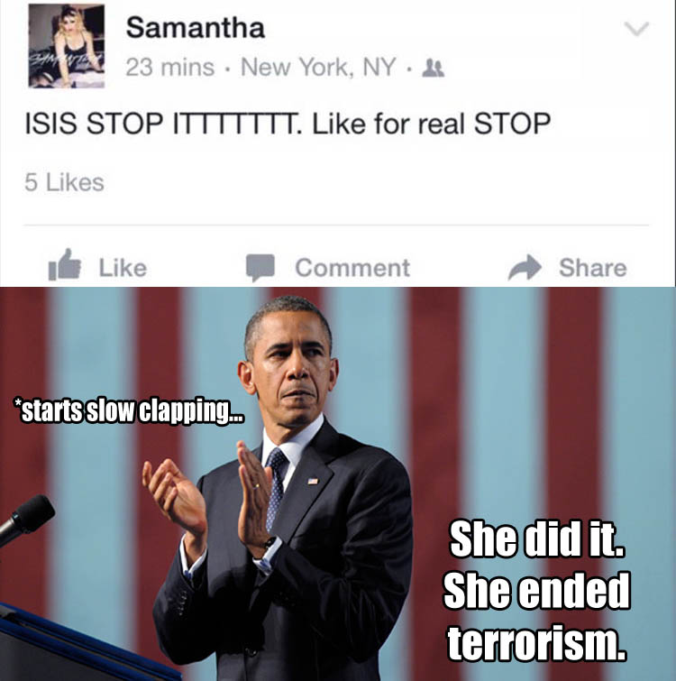 she ended isis