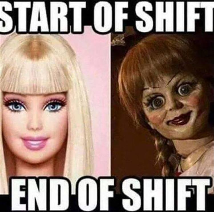 start of your shift