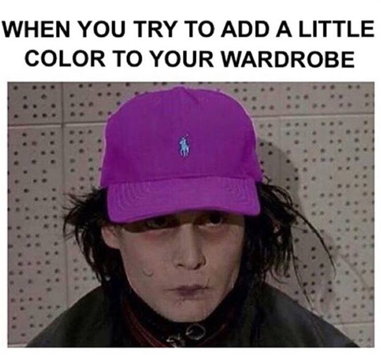 when you add some color to your wardrobe