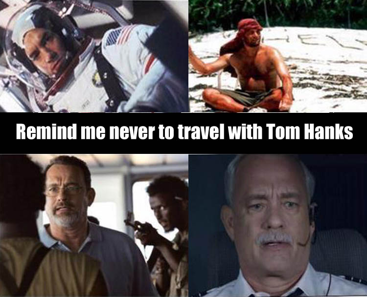 a funny tom hanks