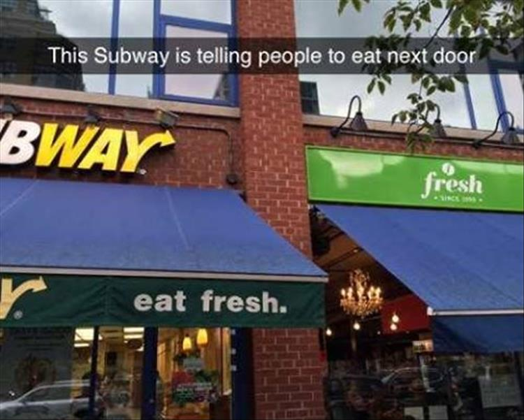 eat fresh subway