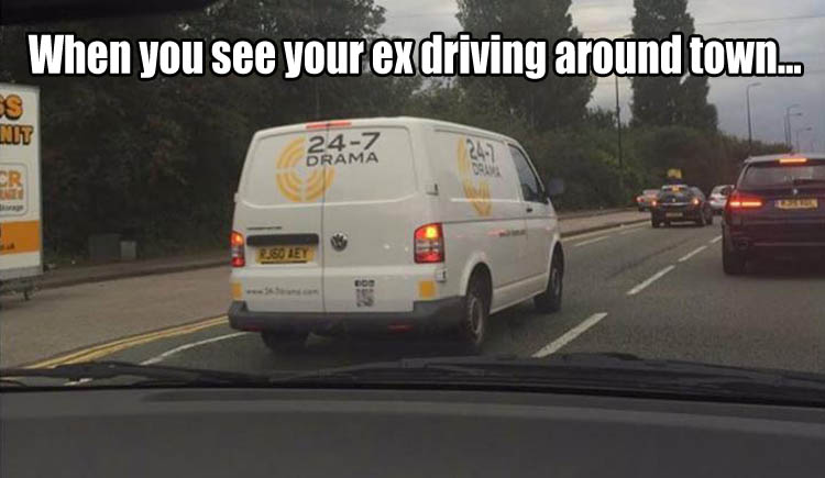funny ex vehicle