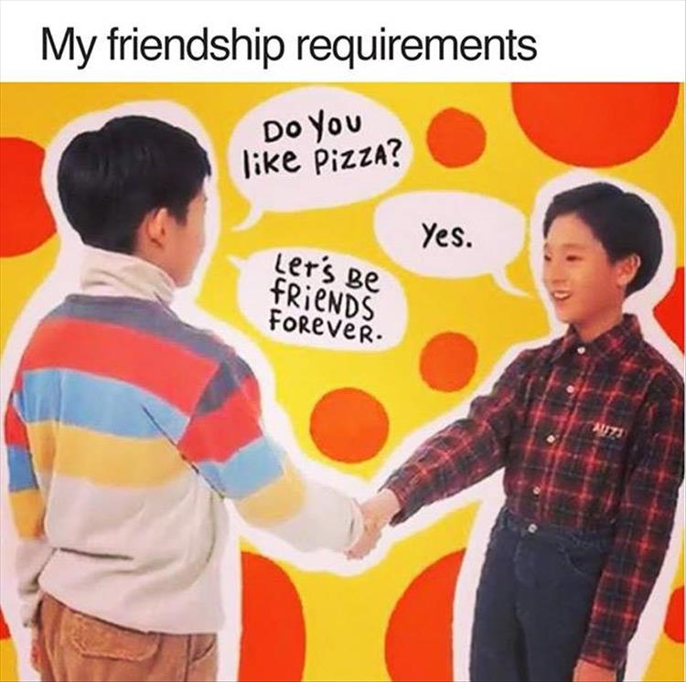 requirements-to-be-my-friend