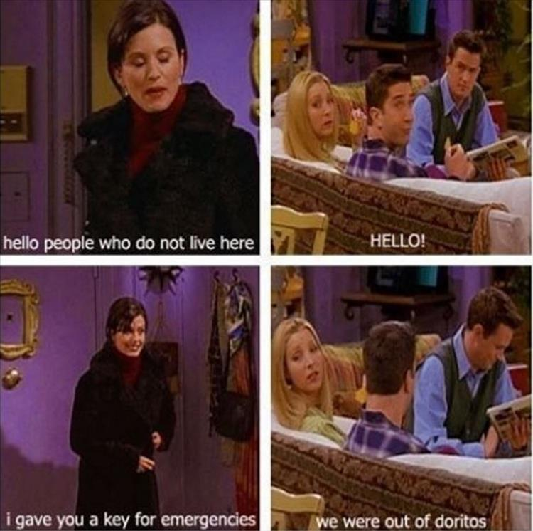 the friends show