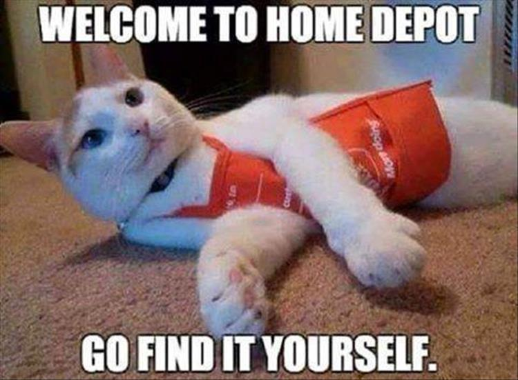 welcome to  home depot