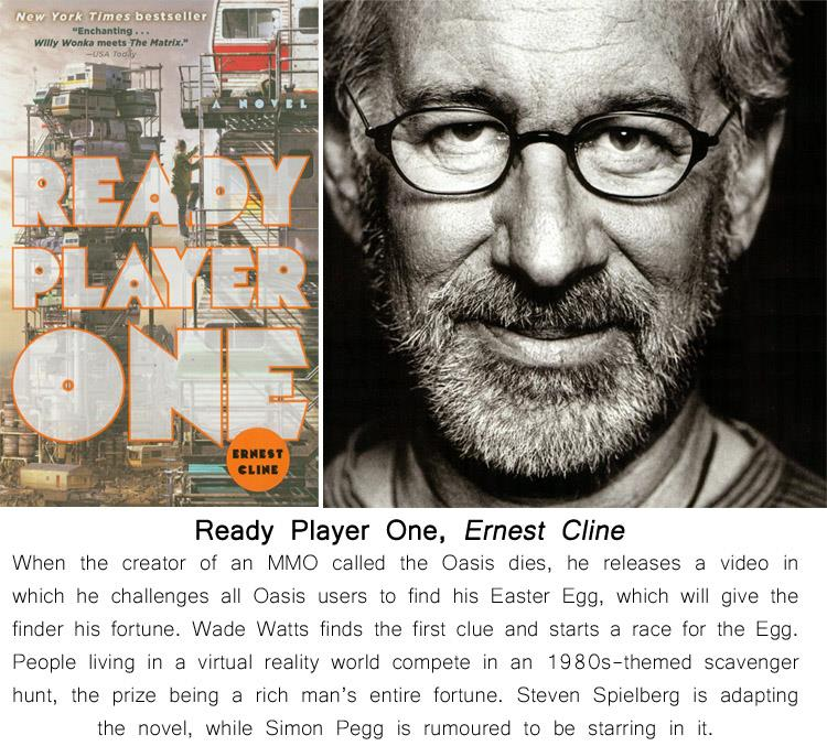 Ready Player One Movie Quotes: Ten Books You'll Need To Read Before They Become Movies In