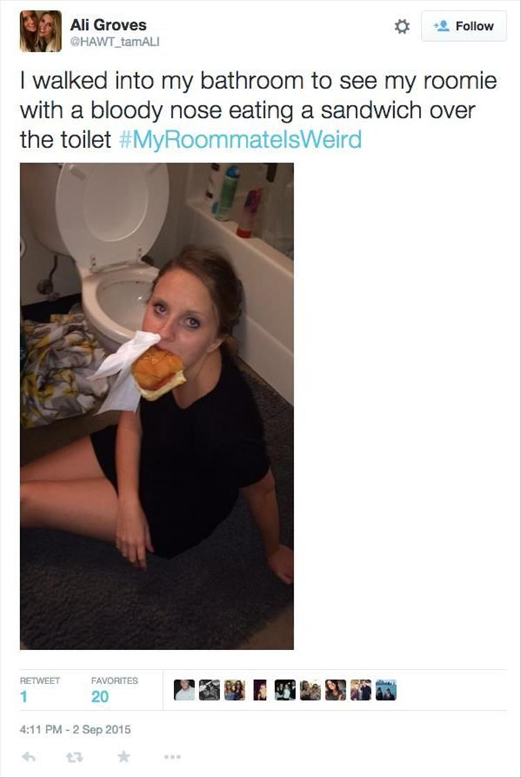 The Best Of My Roommate Is Weird 18 Pics