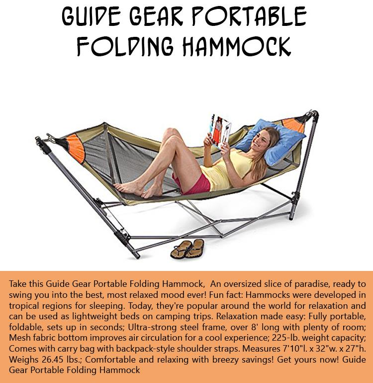 7-guide-gear-portable-folding-hammock