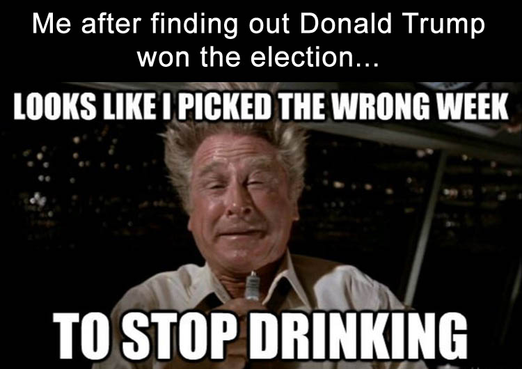 Image of: Donaldtrumpwinsfunnymemes2 Dumpaday The Internet Reacts To Donald Trump Winning With Funny Memes 19 Pics