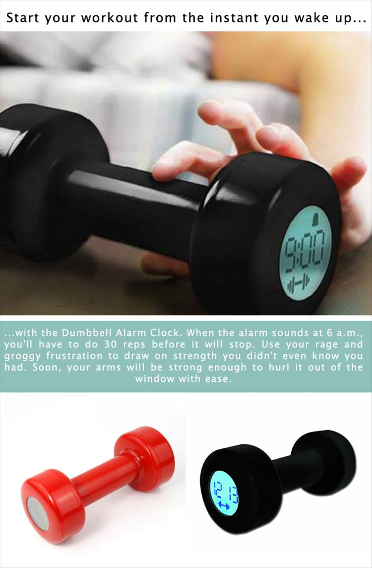 dumbbell-alarm-clock