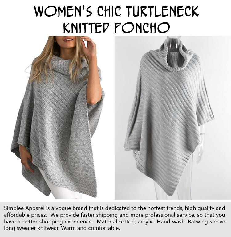 womens-chic-turtleneck-knitted-poncho