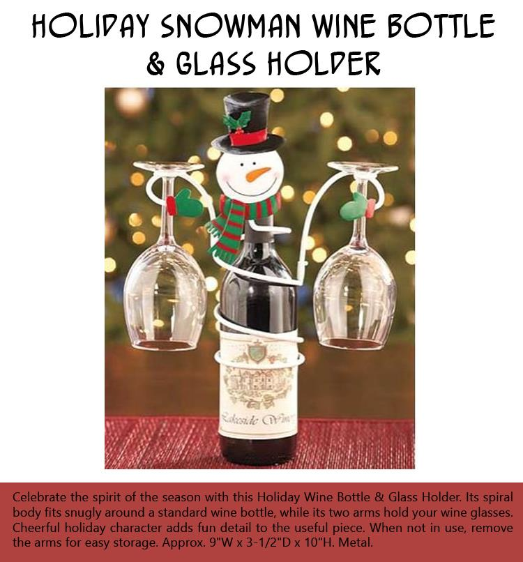 b-holiday-snowman-wine-bottle-glass-holder