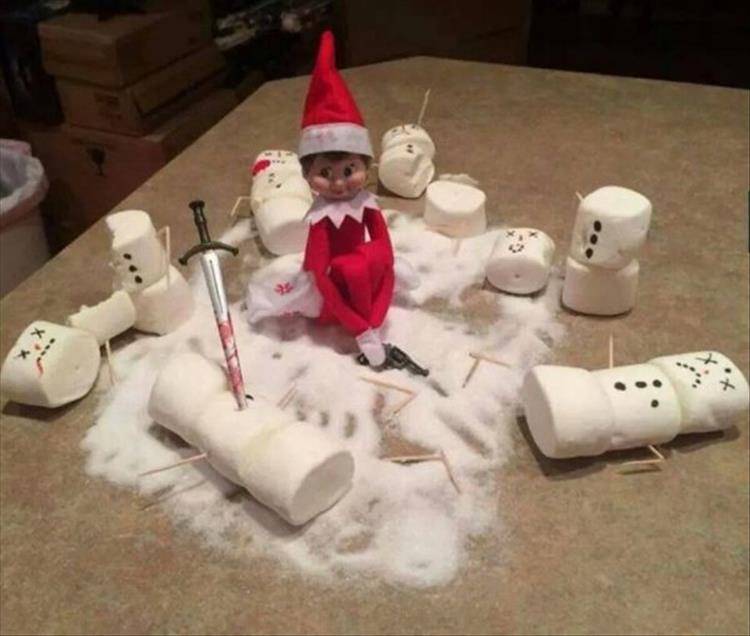 This is What Happens When Dad's In Charge Of Elf On The ...