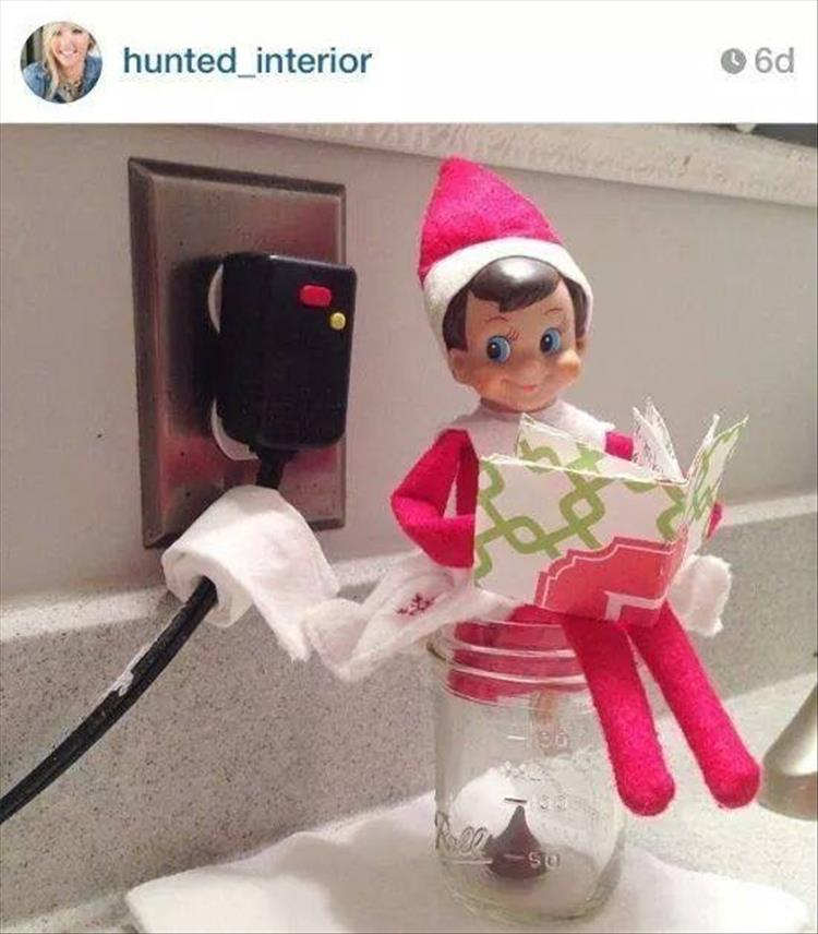 This Is What Happens When Dads In Charge Of Elf On The
