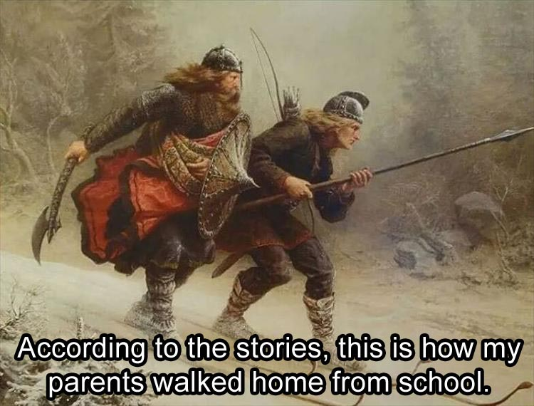 funny-parents-on-their-way-to-school