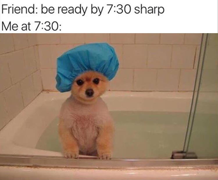 me-getting-ready