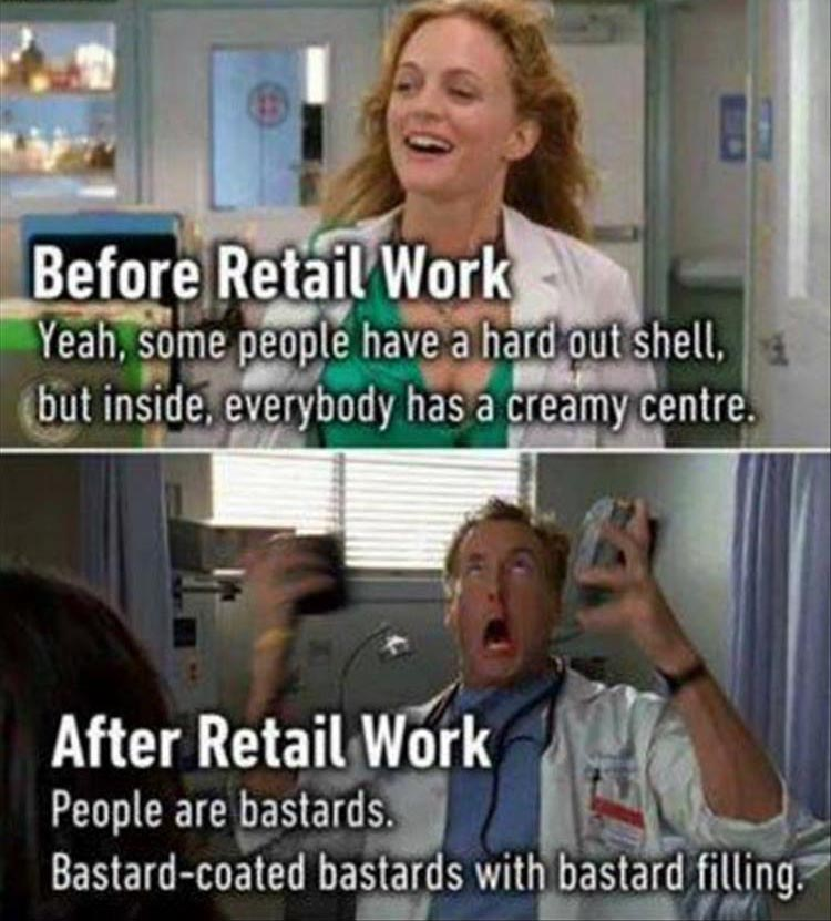working in retail See available retail jobs and career opportunities at workinretailcom let our leading job search engine connect you to the best jobs from top retail companies in the us.