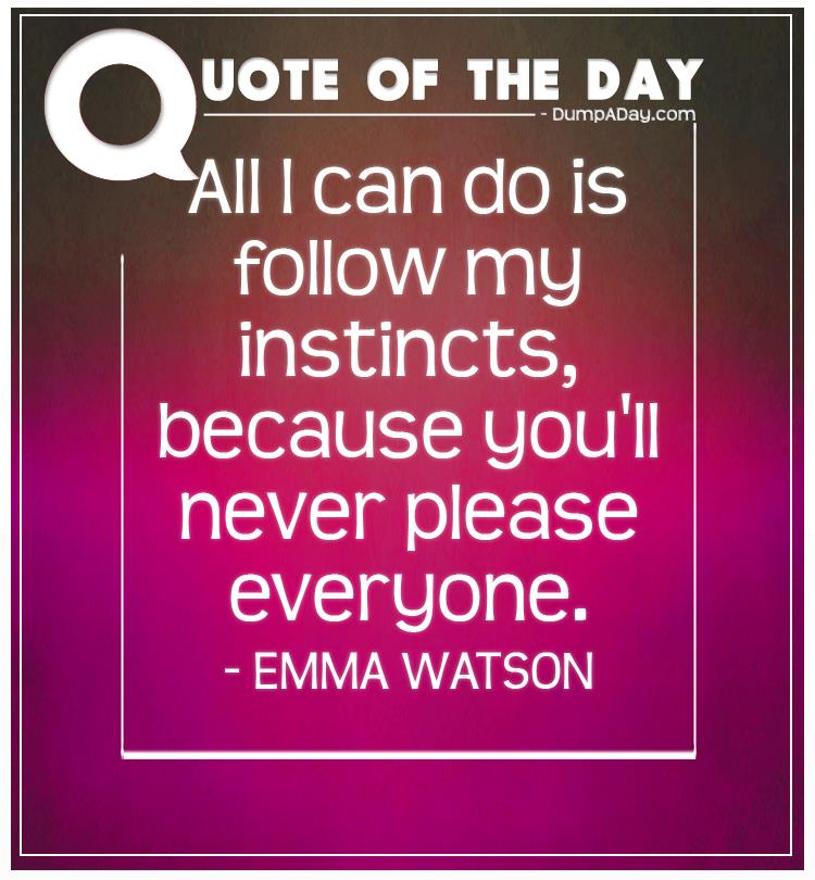 Quotes You Can Please Everyone: Top Ten Quotes Of The Day