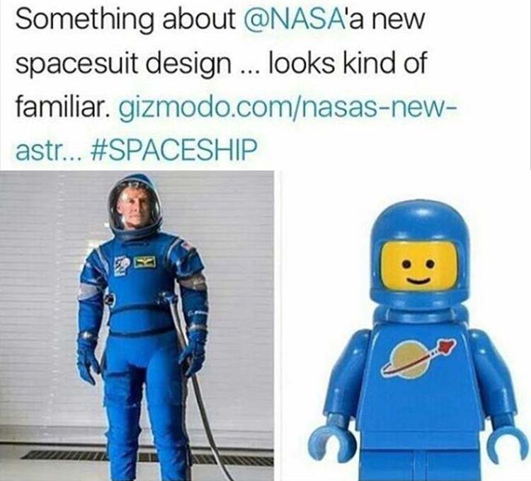 NASA's new space suits