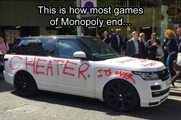 how monopoly typically ends