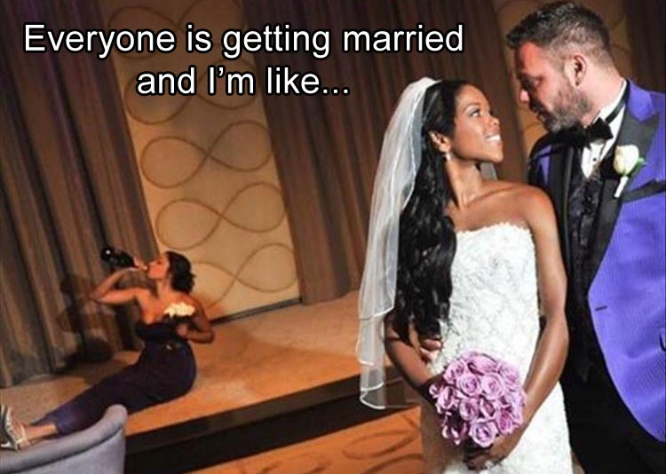 people getting married