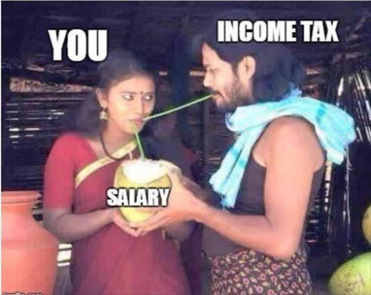 this is how taxes work