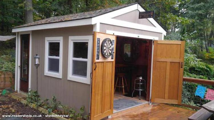 Man Cave Bar Shed : Bar sheds are the new man caves pics