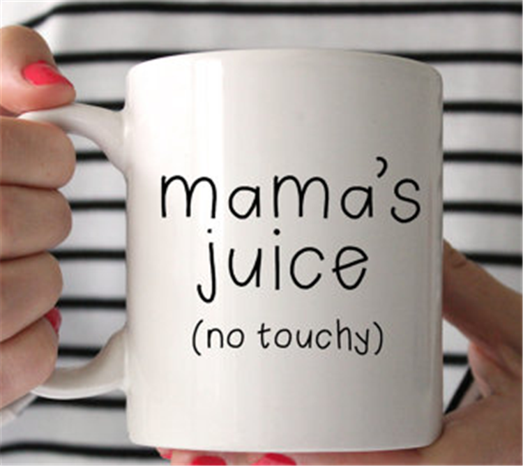 Mamam's juice coffee mug