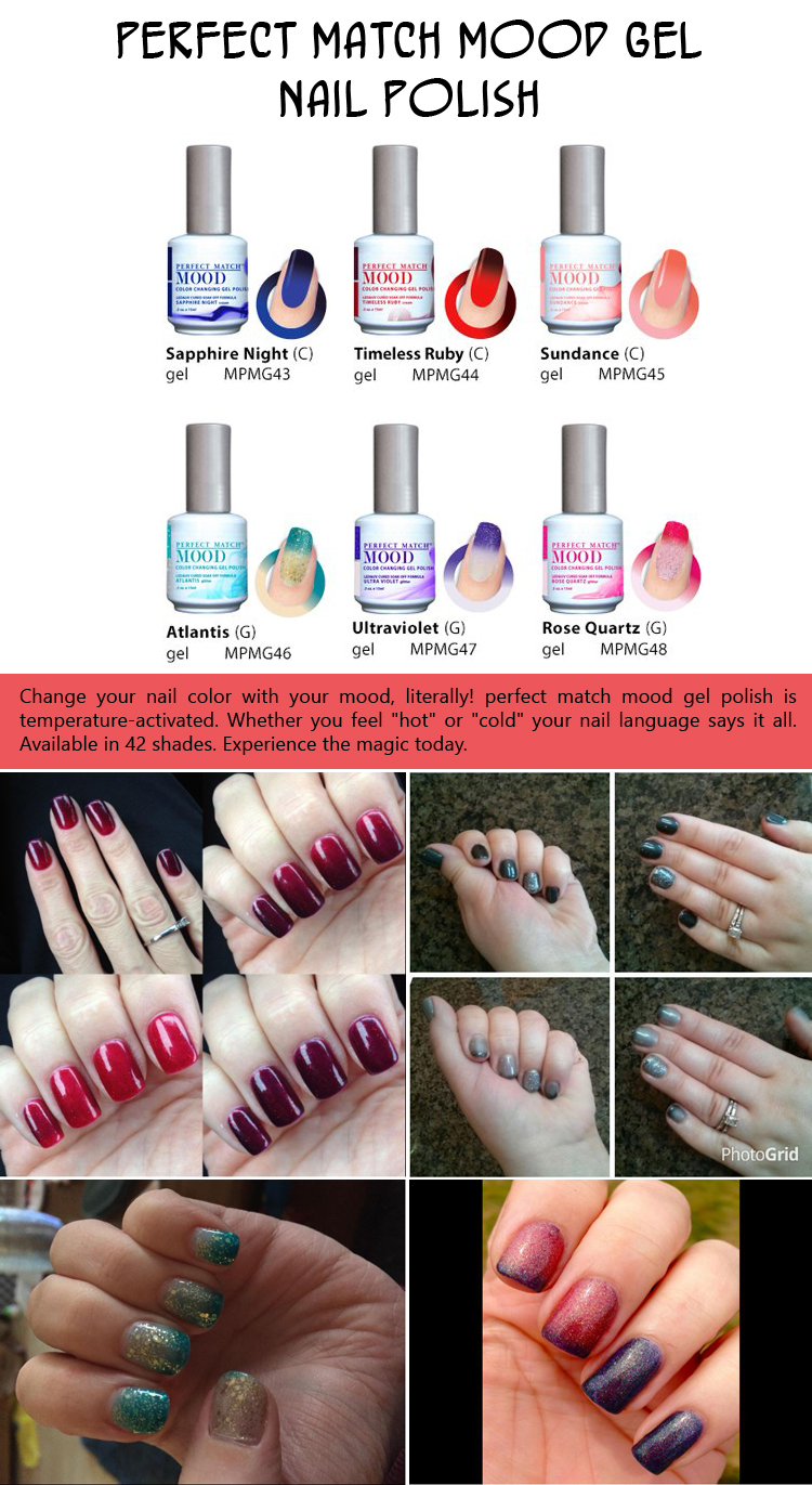 Perfect Match Mood Gel Nail Polish