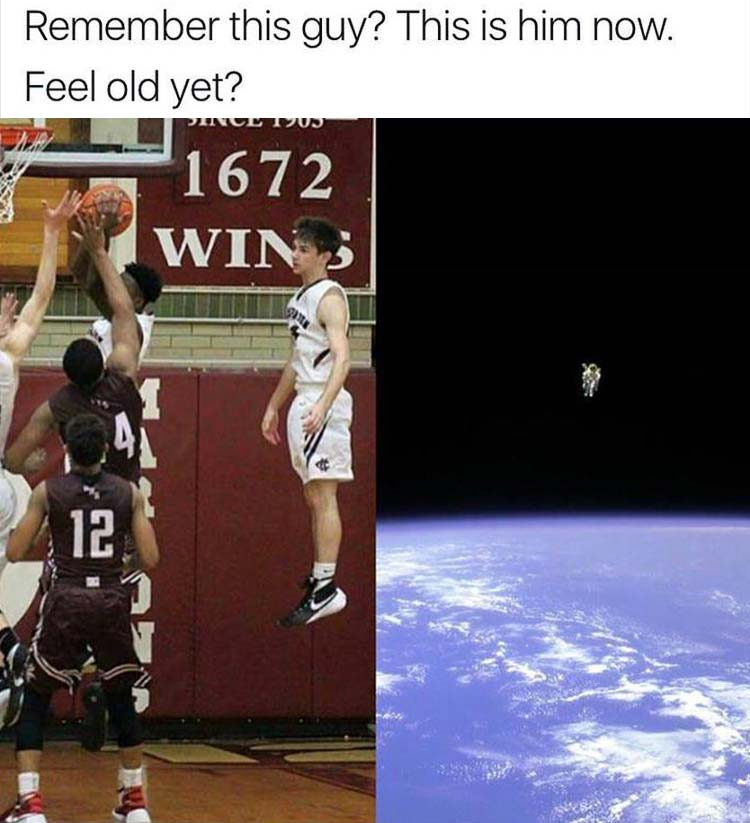 the feel old yet