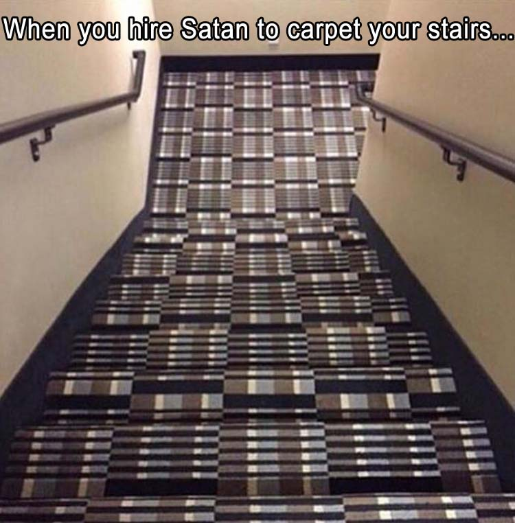 the funny carpet