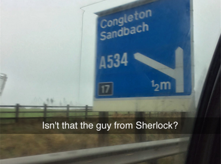 the guy from Sherlock