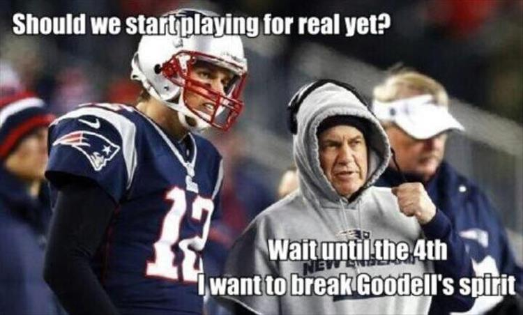the patriots playing for real