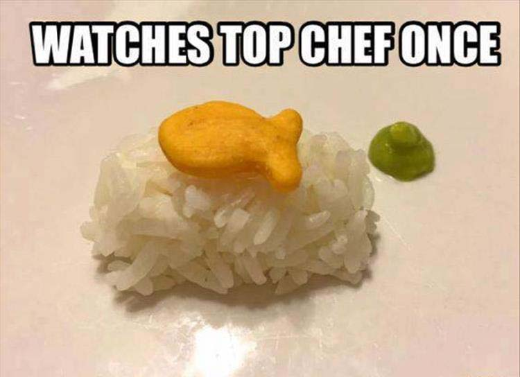 watching top chef