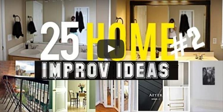 25 simple home improvement projects to take your house to for Next level homes