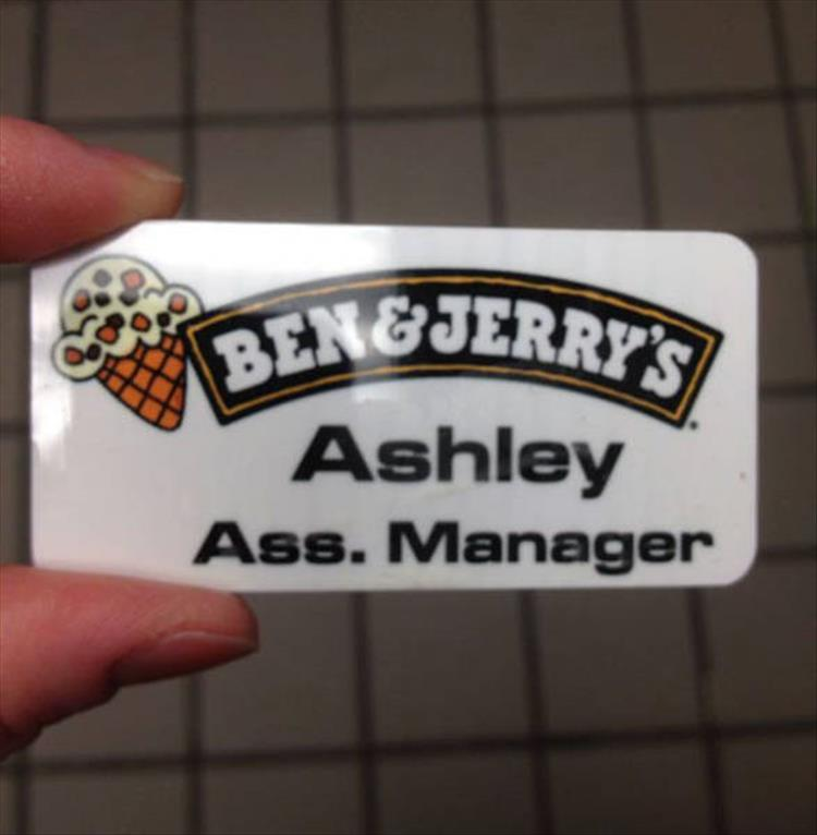 Name Tag Master Post: The Best Of Really Bad Name Tags 16 Pics