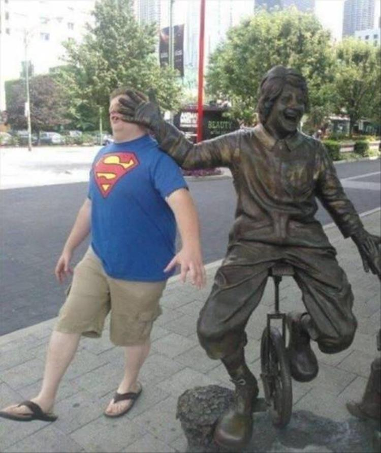 To Be Honest, I'm Starting To Feel Bad For The Statues 21 Pics