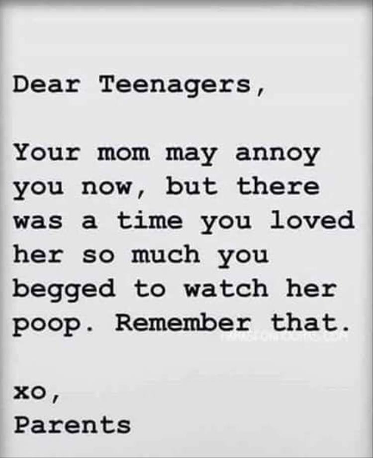 funny quotes about parenting teenagers - photo #11