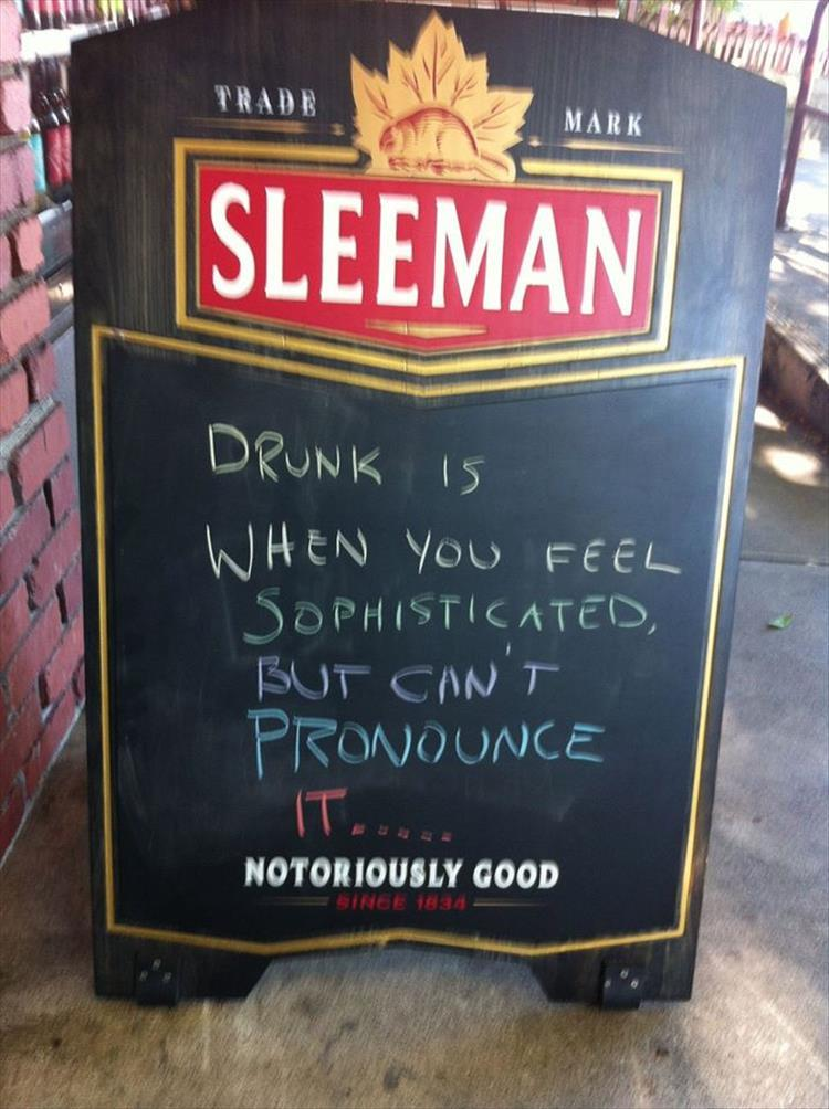Funny Bar Sign Quotes 40 Funny And Creative Bar Signs That Ll Make