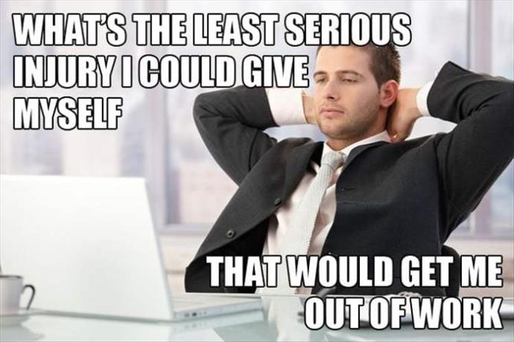 Office Thoughts Meme