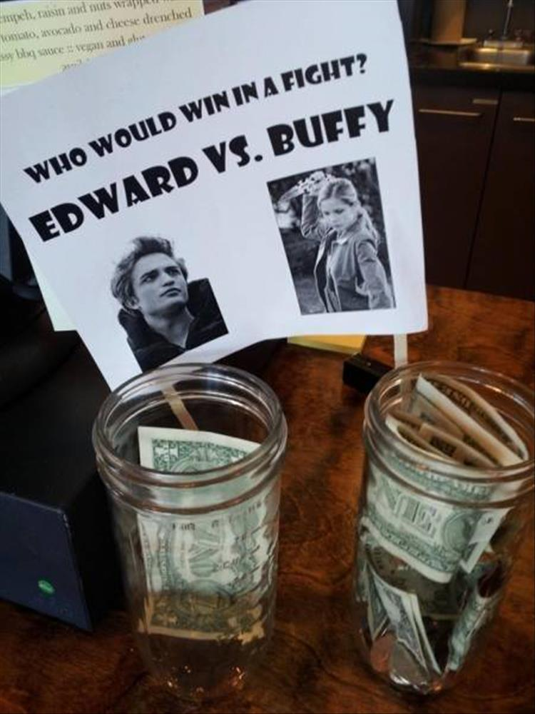 The Funniest Tip Jars You Ll See All Day 28 Pics