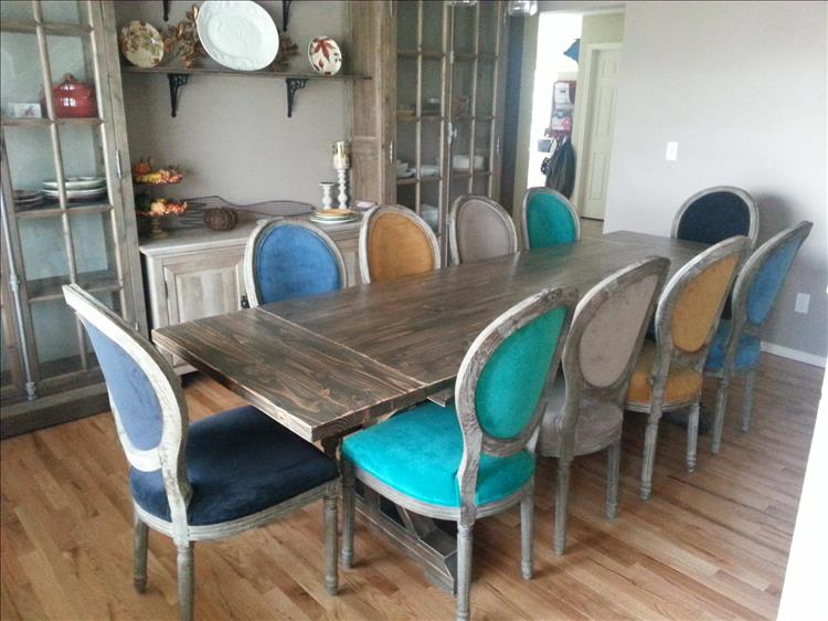 Building A 10 Person Dining Room Table Is Our Project Of The Week ...