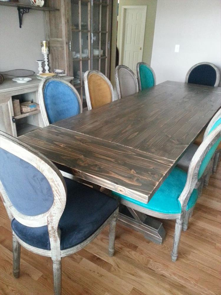 Building a 10 person dining room table is our project of for 10 person dining room table