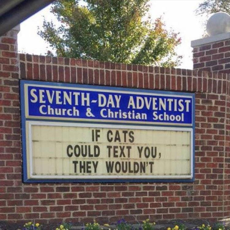 20 Funny Church Signs