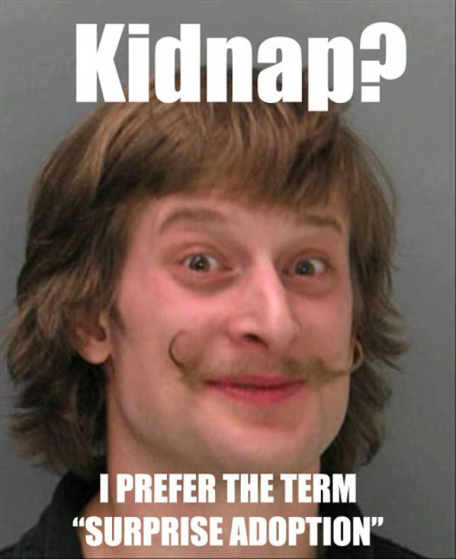 Funny kidnap picture